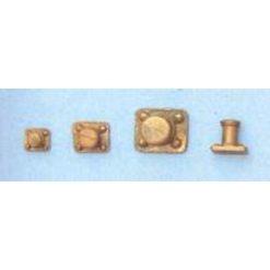 AERONAUT Bolder enkel 6x5x5mm metaal [AE5440-41]