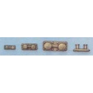 AERONAUT Dubbel bolder 16x6x7mm metaal [AE5441-42]
