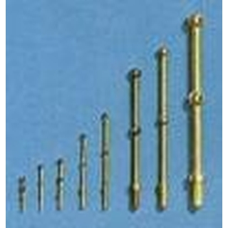 AERONAUT Relingpaal 48mm 2-gaats messing [AE5602-48]
