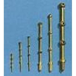 AERONAUT Relingpaal 20mm 3-gaats messing [AE5603-20]