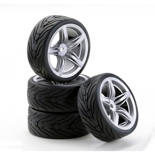 CARSON Band + velg F 12 Style zilver [CAR900531]