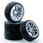 CARSON Band + velg GT Style zilver [CAR900533]