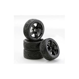 CARSON Band + velg GT style zwart [CAR900543]