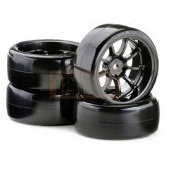 CARSON Band + velg 9 -spaaks DRIFTSET [CAR900614]