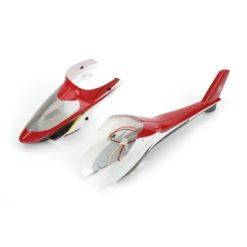 Blade Kabinenhaube Rot m. installierten LEDs: BMCX2 [HOREFLH2427]