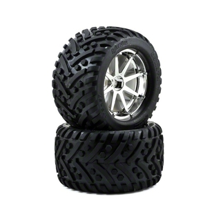 "HPI ""Goliath""-band + blast-velg 178 x 97mm (chroom.2) [HPI4727]"