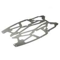 HPI Chassis-plaat 2.5mm Savage(zilver.2) [HPI73917]