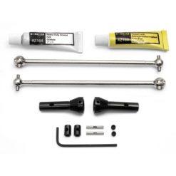 HPI Universele aandrijf-assen voor 17mm meenemer [HPI87234]