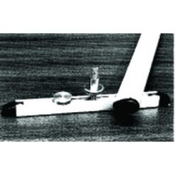 KDH Mastvoet met rail 110x8x25mm [KDH1392/18]