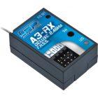 LRP Ontvanger A3-RX 2.4 GHz FHSS ontvanger [LRP87211]