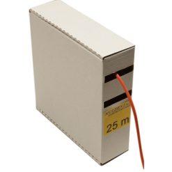 MULDENTAL siliconen snoer 6mm rood (1Meter) [MUL55060]