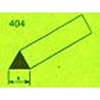 MAQUETT ABS Driehoek 60 (gr.) 3mm 1mtr (039) [RA404-53]