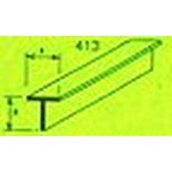 MAQUETT ABS T-profiel 9 x 9mm 1mtr (119) [RA413-61]