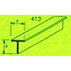 MAQUETT ABS T-profiel 10 x 10mm 1mtr (120) [RA413-62]