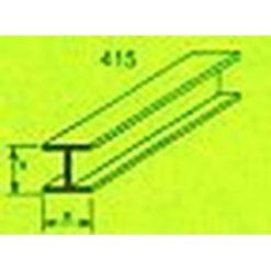 MAQUETT ABS H-profiel 10 x 10mm 1mtr (140) [RA415-63]