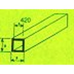 MAQUETT ABS Vierkant buis 5.0 x 7.0mm 1mtr (192) [RA420-56]
