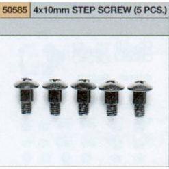 TAMIYA 4 x 10mm Step screw (5) [TA50585]