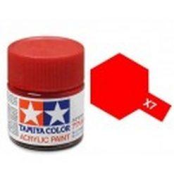 TAMIYA X-7 Rood acryl.groot (1mtr) [TA81007]