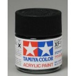 TAMIYA XF-1 Mat zwart acryl.groot (1mtr) [TA81301]