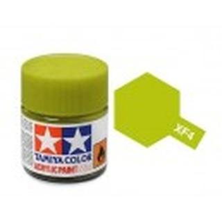 TAMIYA XF-4 Geel-groen acryl.klein [TA81704]