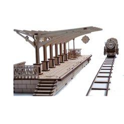 Ugears Treinstation (houtbouw) [UG70013]