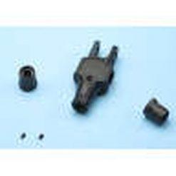VARIO Alu. centraalstuk set zwart [V72/40]