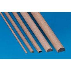 KRICK Halfrond hout 1.5x3mm [KRI81653]