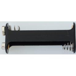 Batterijbox 2xAA Drukknop (open) [MUL58704]