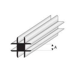 MAQUETT ABS Cross connector 1.5mm (212) (1mtr) [RA448-52]