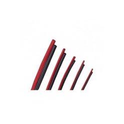 SCEN (038) Krimpkous 6.4 x 0.5m rood [S000104AR]