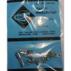 KDH Haak-kopp. plaatje met schr 20x5mm (1) [KDH1391/14]