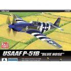 """ACADEMY 1:48 USAAF P51B """"Blue Nose"""" [ACAB12303]"""