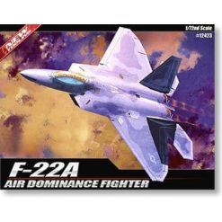 "ACADEMY 1:72 F-22A ""Air Domiance Fighter"" [ACAB12423]"