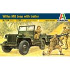 ITALERI Willys Mb Jeep With Trailer [ITA0314]