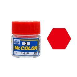 Mr. Color (10ml) Red (Nr.3) [MRHC003]