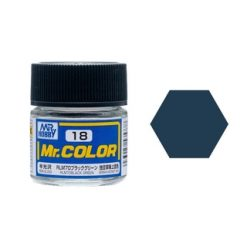 Mr. Color (10ml) Rlm70 Black Green (Nr.18) [MRHC018]