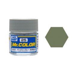 Mr. Color (10ml) Dark Seagray (Nr.25) [MRHC025]