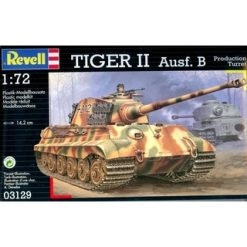 REVELL 1:72 Tiger 2 Audf.B (Production Turret) [REV03129]