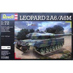 REVELL 1:72 Leopard 2A6 / A6M [REV03180]
