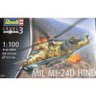 REVELL 1:100 Mil Mi-24D Hind [REV04951]