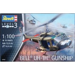 REVELL 1:100 Bell UH-1H Gunship [REV04983]