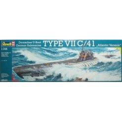 REVELL 1:144 German Submarine TYPE VII C/41 [REV05100]