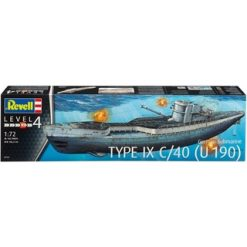 REVELL 1:72 German Submarine Type IX C/40 (U 190) [REV05133]