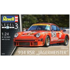 "REVELL 1:24 Porsche 934 RSR ""Jägermeister"" [REV07031]"