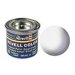 REVELL enamel 14ml verf wit. glanzend [REV32104]