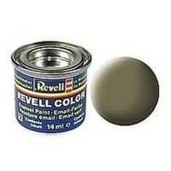 REVELL enamel 14ml nr45 verf licht-olijf. mat [REV32145]