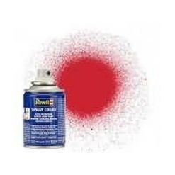 REVELL spray 100ml vuurrood. zijdemat [REV34330]