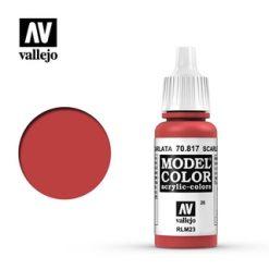 VALLEJO Model Color Scarlet [VAL70817]