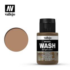 VALLEJO Model Wash Dark Brown 35ml [VAL76514]