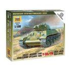 ZVEZDA Soviet Tank T-34 [ZVZ6101]